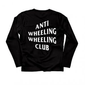 Anti-Wheeling Club Long Sleeve Tee