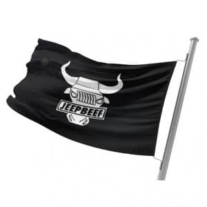 Classic JeepBeef Flag 3x5 FT